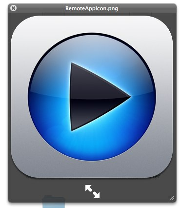 iOS 4 1 for Apple TV: New Remote Icon,