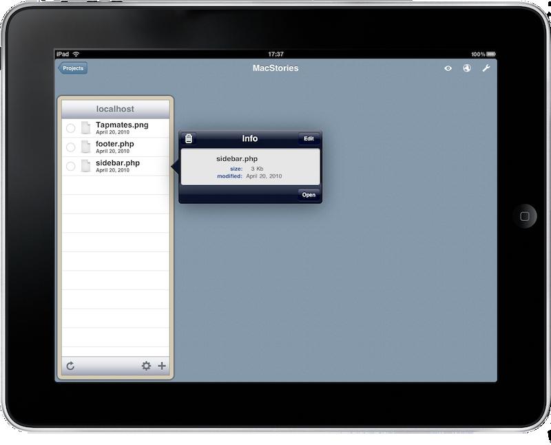 Gusto: Web Development on the iPad - MacStories