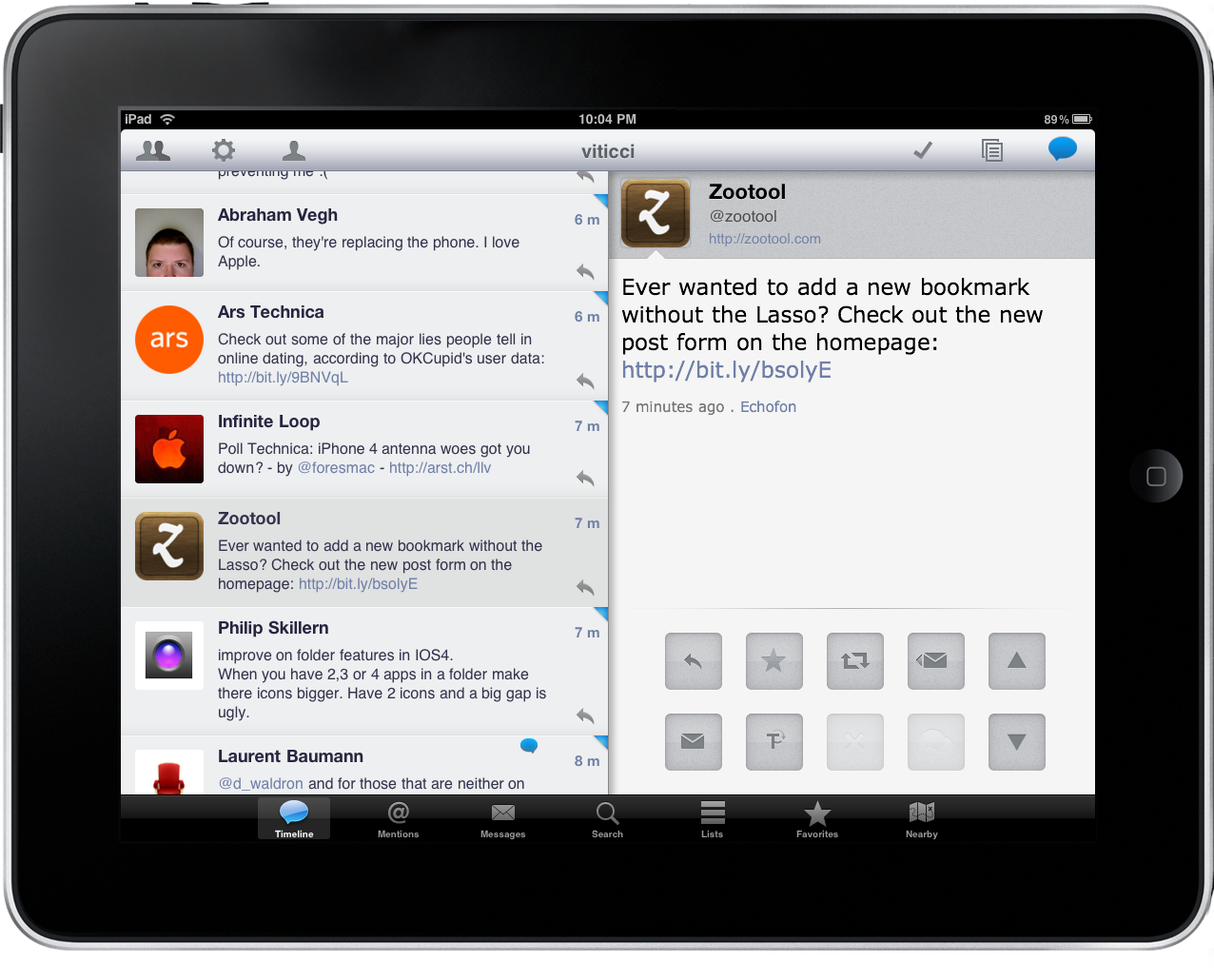 Osfoora HD: The Ultimate Twitter Client For IPad?